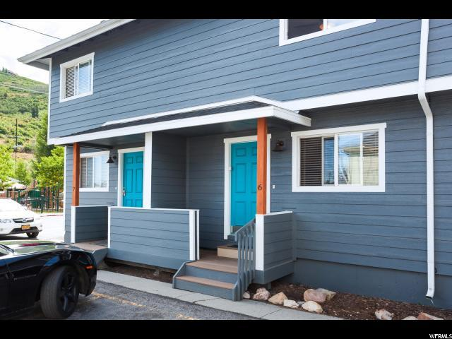 1384 Park Ave #6, Park City, UT 84060 (#1540324) :: Bustos Real Estate | Keller Williams Utah Realtors