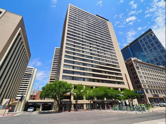 44 W 300 S #305, Salt Lake City, UT 84101 (#1540548) :: Big Key Real Estate