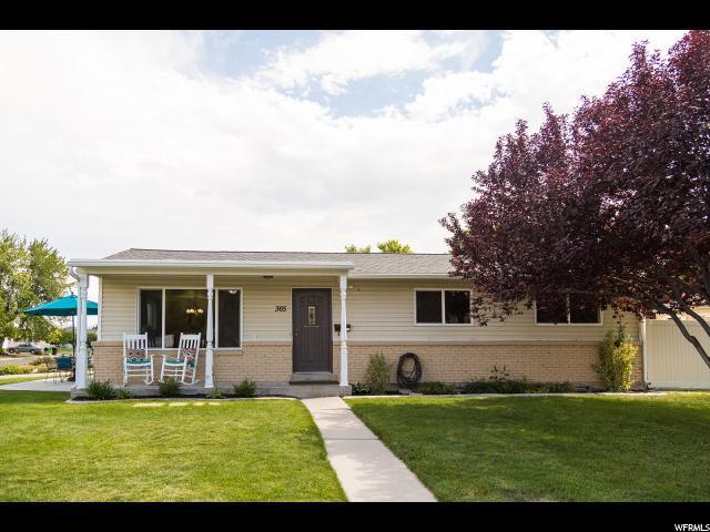 365 W 600 S, Orem, UT 84058 (#1540916) :: Big Key Real Estate