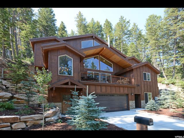 455 Upper Evergreen Dr, Park City, UT 84098 (#1541055) :: The Fields Team