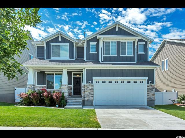 769 W Star Spangled Dr S, Bluffdale, UT 84065 (#1541200) :: Colemere Realty Associates