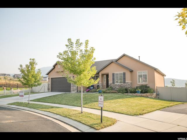 211 Wolverine Creek, Elk Ridge, UT 84651 (#1541232) :: Red Sign Team