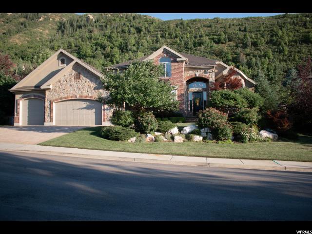 3650 E Quiet Ridge Dr S, Sandy, UT 84092 (#1541409) :: Big Key Real Estate