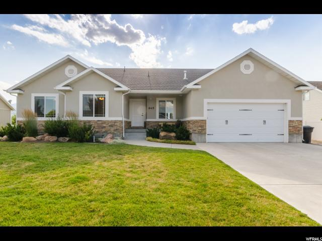 645 N 800 E, Wellsville, UT 84339 (#1541440) :: Exit Realty Success