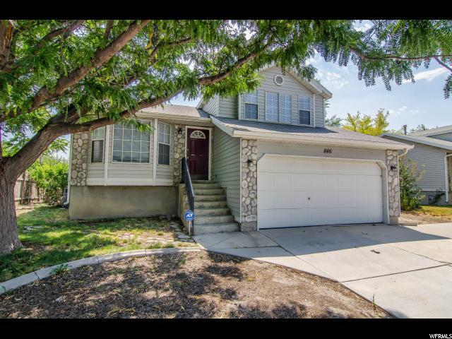 846 N Starcrest Dr W, Salt Lake City, UT 84116 (#1541491) :: Colemere Realty Associates