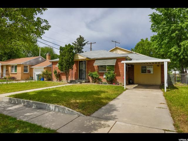 1105 S Glendale Dr W, Salt Lake City, UT 84104 (#1541535) :: Colemere Realty Associates