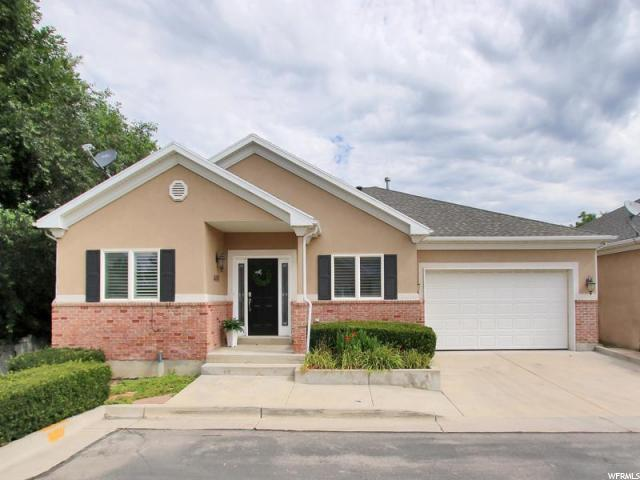 4490 S Snowmass Ct E, Holladay, UT 84124 (#1542467) :: Red Sign Team