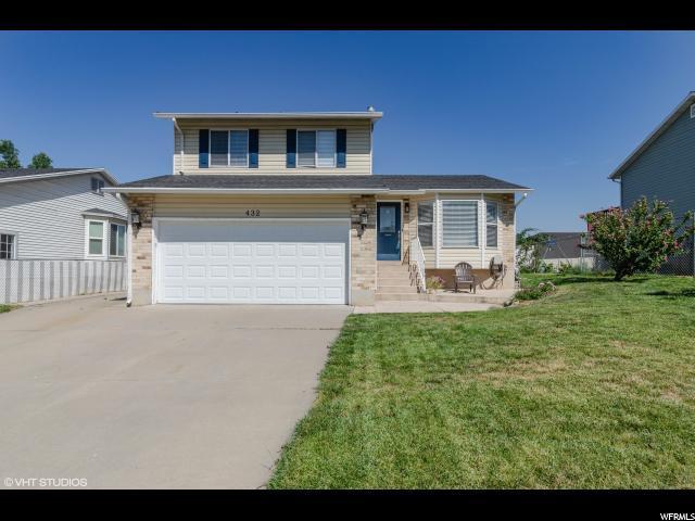 432 W Creekside Ln, Kaysville, UT 84037 (#1542837) :: Bustos Real Estate | Keller Williams Utah Realtors