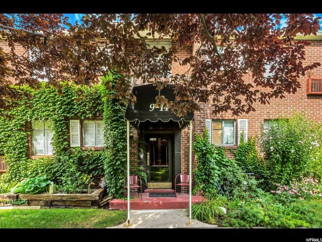 450 E 100 S #14, Salt Lake City, UT 84111 (#1542855) :: goBE Realty