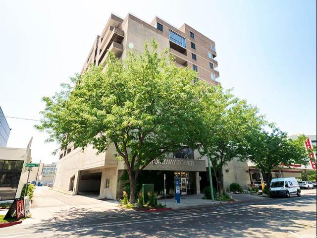 230 E Broadway S #804, Salt Lake City, UT 84111 (#1543099) :: Red Sign Team
