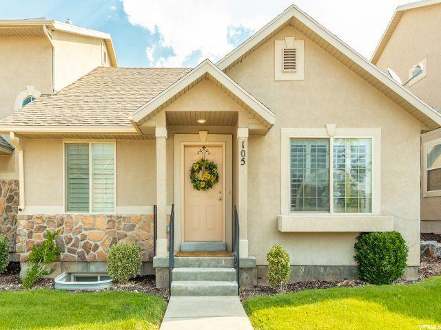 224 W Crescent View Ln N #105, Tooele, UT 84074 (#1543163) :: Red Sign Team