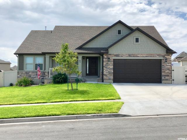 83 W Wildflower Dr S, Saratoga Springs, UT 84045 (#1543167) :: Exit Realty Success