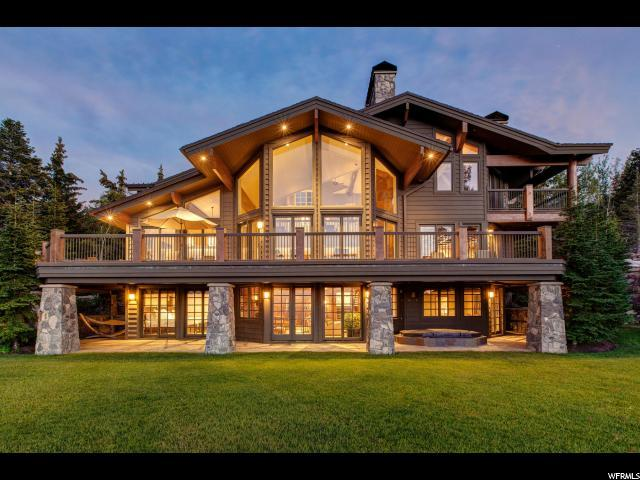 8125 Woodland View Dr, Park City, UT 84060 (#1543290) :: Red Sign Team