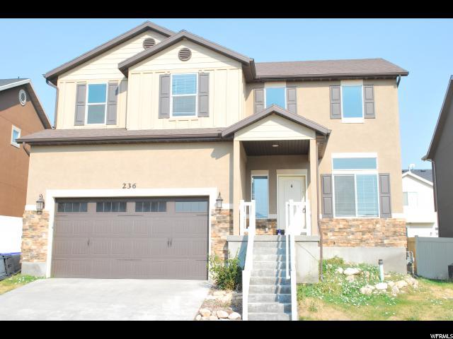 236 W Cedar Grove Ln, Saratoga Springs, UT 84045 (#1543549) :: Keller Williams Legacy
