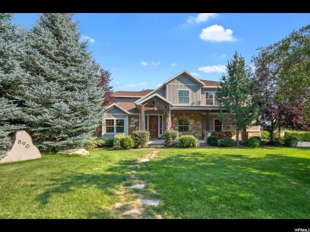 890 E Dutch View Ct, Midway, UT 84049 (#1543910) :: Red Sign Team