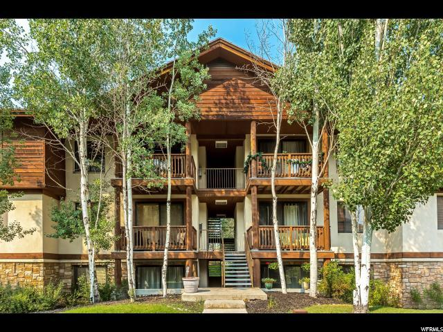 1600 Pinebrook Blvd F-7, Park City, UT 84098 (MLS #1544728) :: High Country Properties