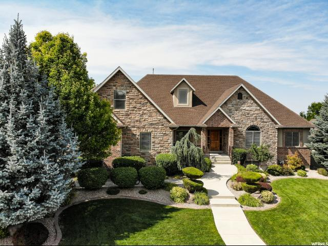 2284 W Count Fleet Ct S, South Jordan, UT 84095 (#1544756) :: goBE Realty
