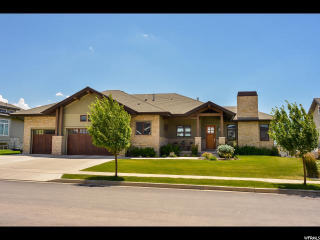 3255 Basin View Cir, Mountain Green, UT 84050 (#1545105) :: Keller Williams Legacy