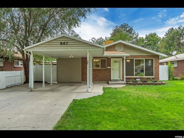 867 N 1500 W, Salt Lake City, UT 84116 (#1545159) :: The Fields Team