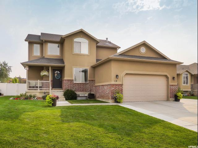 14 N 525 W, Clearfield, UT 84015 (#1545240) :: Red Sign Team