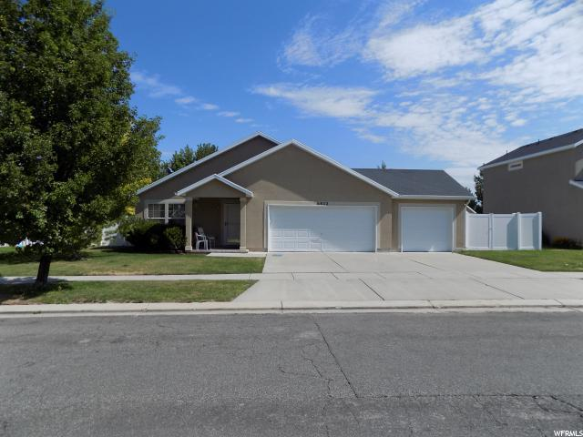 6822 W Hunter Valley Dr, West Valley City, UT 84128 (#1545282) :: Red Sign Team