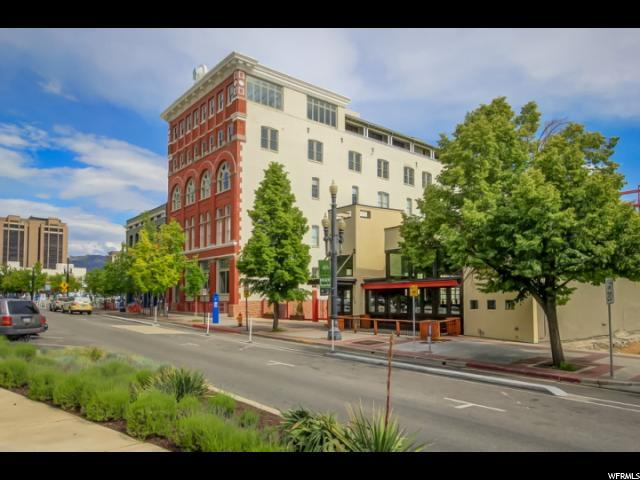 159 W 300 S #510, Salt Lake City, UT 84101 (#1546293) :: Red Sign Team