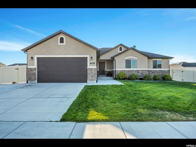 4475 N Butterfly Ln, Eagle Mountain, UT 84005 (#1546295) :: Red Sign Team