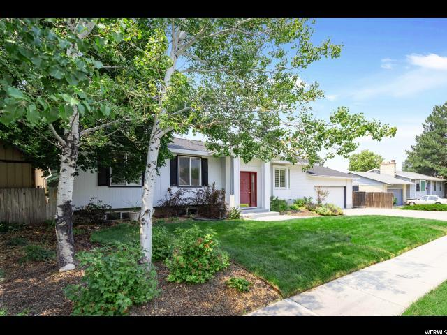 7254 S 2700 E, Cottonwood Heights, UT 84121 (#1546966) :: Red Sign Team