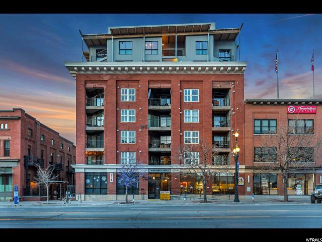 328 W 200 S #301, Salt Lake City, UT 84101 (#1548017) :: Bustos Real Estate | Keller Williams Utah Realtors