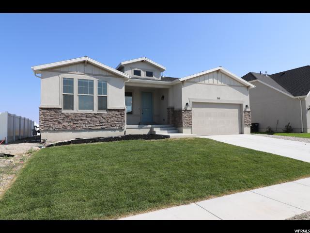 353 E Rockwood Way N, Stansbury Park, UT 84074 (#1548089) :: Red Sign Team