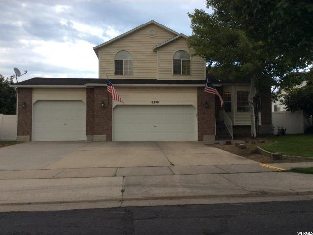 6399 S Gold Valley Ct W, West Valley City, UT 84118 (#1548486) :: goBE Realty
