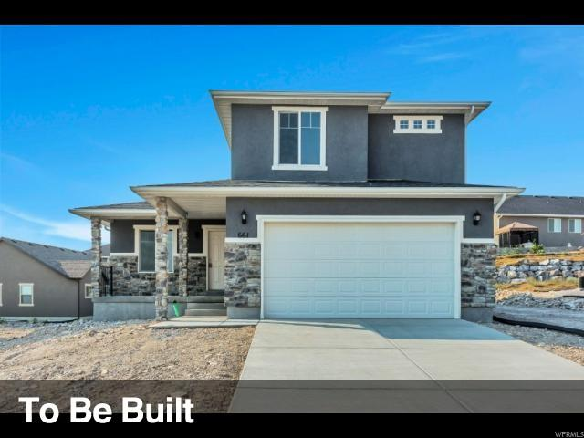 7843 N Cobblerock Rd, Lake Point, UT 84074 (#1548934) :: Exit Realty Success