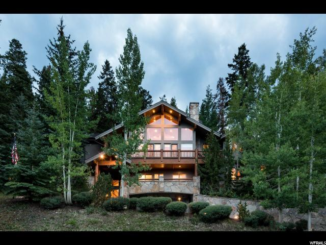 7008 Silver Lake Dr, Park City, UT 84060 (#1549434) :: The Canovo Group