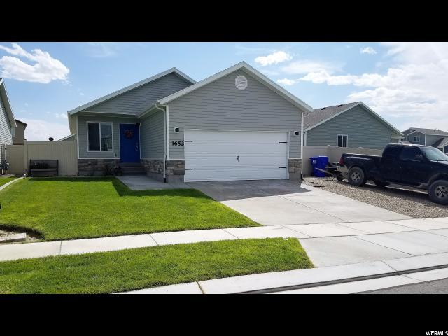 1652 E Downwater St, Eagle Mountain, UT 84005 (#1550934) :: RE/MAX Equity