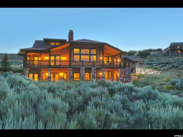 9821 N Hidden Hill Loop, Park City, UT 84098 (#1551367) :: Exit Realty Success