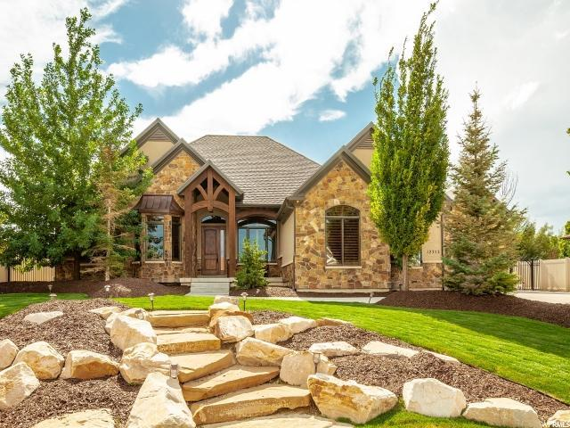 12352 S Juniper Haven Dr W, Riverton, UT 84065 (#1551933) :: goBE Realty