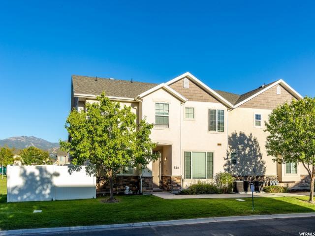 988 W Chelsea Ln, North Salt Lake, UT 84054 (#1552538) :: Bustos Real Estate | Keller Williams Utah Realtors