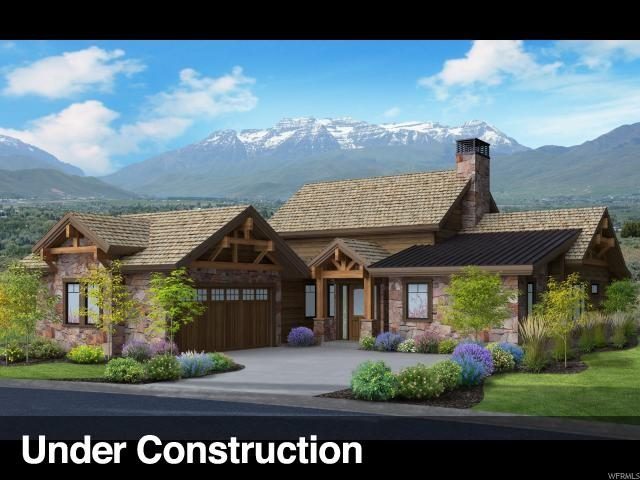 81 N Club Cabins Crt (Lot Cc-16) Cc-16, Heber City, UT 84032 (MLS #1553953) :: High Country Properties