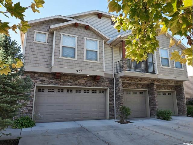 1407 W Stone Mdw S, West Jordan, UT 84088 (#1554329) :: Bustos Real Estate | Keller Williams Utah Realtors
