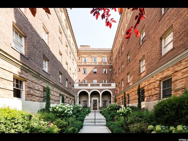 1283 E South Temple S #404, Salt Lake City, UT 84102 (#1555130) :: Big Key Real Estate