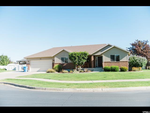 915 Garden Cir, Nibley, UT 84321 (#1555663) :: Bustos Real Estate | Keller Williams Utah Realtors