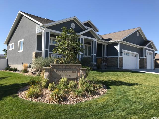 4011 W Deer Mountain Dr S, Riverton, UT 84065 (#1555923) :: KW Utah Realtors Keller Williams