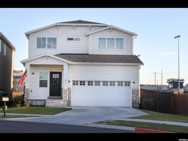 677 W Koins Way S, Bluffdale, UT 84065 (#1556114) :: Colemere Realty Associates