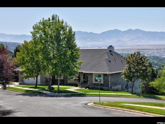 86 N Viewcrest Dr E, Bountiful, UT 84010 (#1556132) :: Exit Realty Success