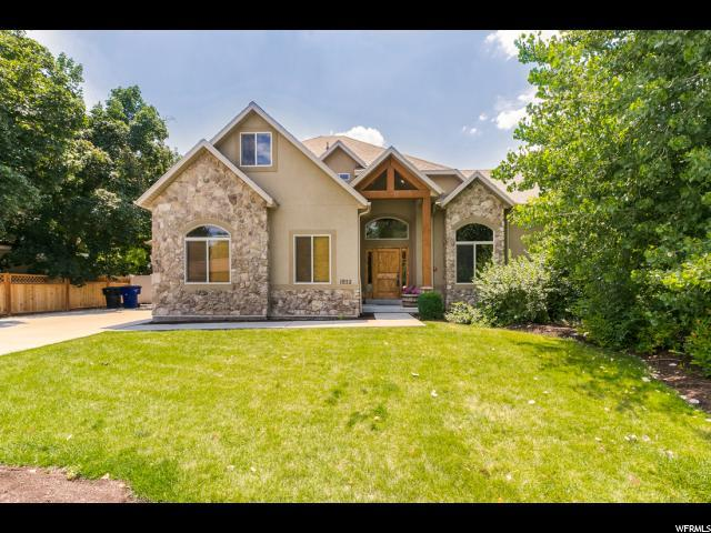 1852 E Frontier Rd, Holladay, UT 84121 (#1556182) :: Colemere Realty Associates