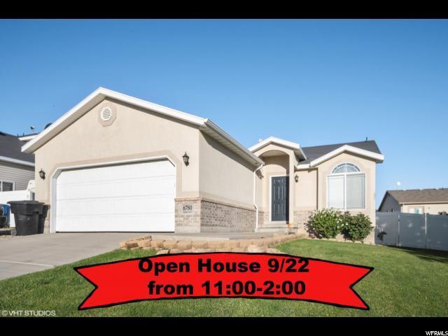 6780 S Duchess St W, West Jordan, UT 84081 (#1556200) :: Bustos Real Estate | Keller Williams Utah Realtors