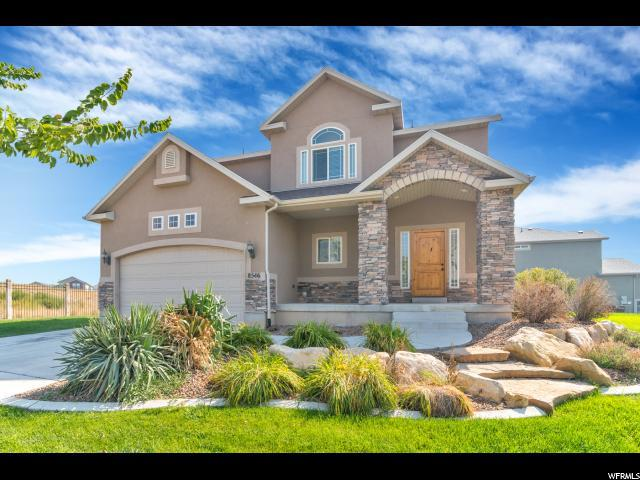 8546 N Cunning Hill Dr, Eagle Mountain, UT 84005 (#1556312) :: goBE Realty