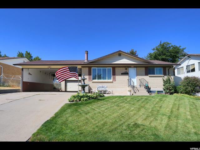 4518 S Wormwood Dr W, West Valley City, UT 84120 (#1556324) :: Bustos Real Estate | Keller Williams Utah Realtors