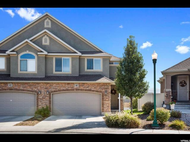 3407 W Mount Cortina Way S, Riverton, UT 84065 (#1556596) :: The Fields Team