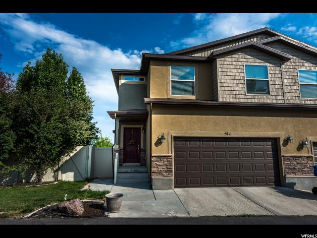 511 W Bountiful Way N, Saratoga Springs, UT 84045 (#1556621) :: Exit Realty Success